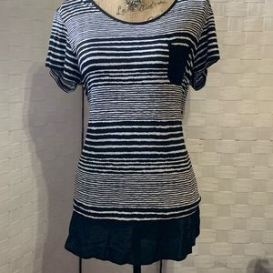 NWT Anne Klein Ladies T-shirt Black Medium